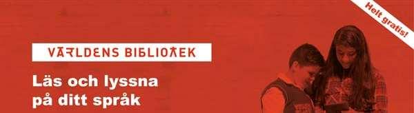 låna böcker på olika språk