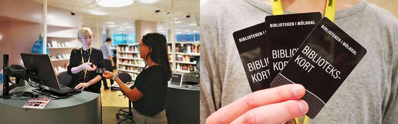 Möte vid disk och bibliotekskort
