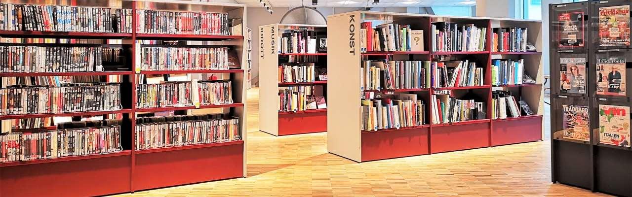 Fackavdelningen på Mölndals stadsbibliotek