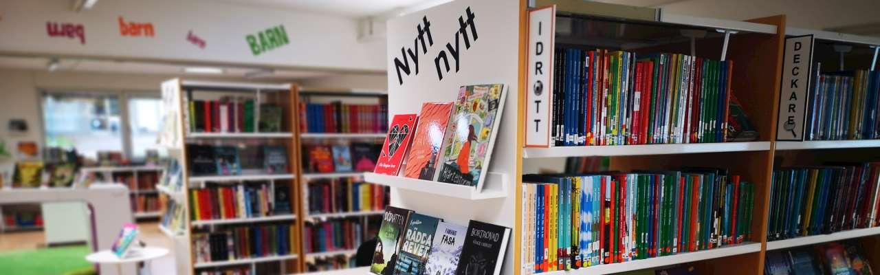 Lindome biblioteks ungdomsavdelning