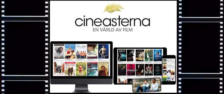Digital filmtjänst, bilder på olika filmomslag