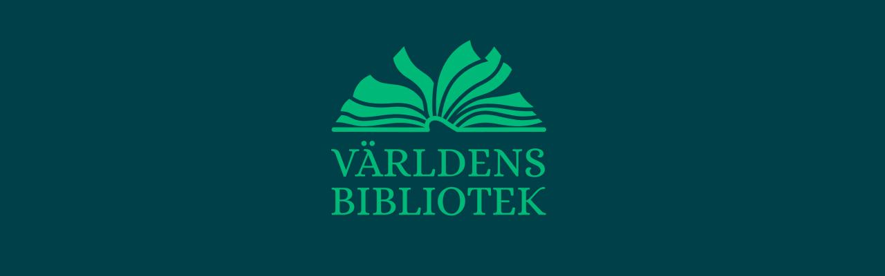 Världens bibliotek logotyp